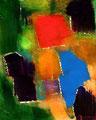 Ohne Titel - 2009 - Acryl auf Papier - 29,8 x 23,9 cm