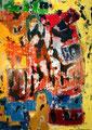 Ohne Titel - 2008 - Acryl auf Papier - 70 x 50,2 cm