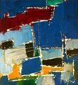 Ohne Titel - 2008 - Acryl auf Papier - 22 x 20,4 cm