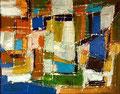 Ohne Titel - 2008 - Acryl auf Papier - 29,3 x 37,3 cm