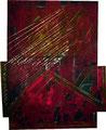 Ohne Titel - 2008 - Acryl auf Papier - ca. 73 x 58 cm