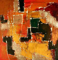 Ohne Titel - 2008 - Acryl auf Papier - 23,8 x 23,4 cm