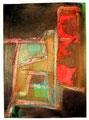 Ohne Titel - 2008 - Acryl auf Papier - 69,3 x 50 cm