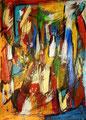 Ohne Titel - 2008 - Acryl auf Papier - 70,3 x 50,2 cm