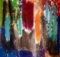 Ohne Titel - 2009 - Acryl auf Papier - ca. 70 x 75 cm