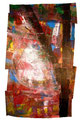 Ohne Titel - 2008 - Acryl auf Papier - ca. 87 x 53 cm