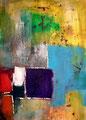 Ohne Titel - 2009 - Acryl auf Papier - 69,9 x 50,1 cm