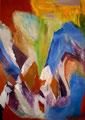 Ohne Titel - 2009 - Acryl auf Papier - 100,3 x 70,3 cm