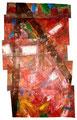 Ohne Titel - 2008 - Acryl auf Papier - ca. 90 x 55 cm