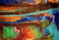 Ohne Titel - 2009 - Acryl auf Papier - 70,3 x 100,3 cm