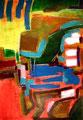 Ohne Titel - 2009 - Acryl auf Papier - 100,4 x 70,2 cm