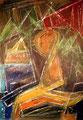 Ohne Titel - 2008 - Acryl auf Papier - 98,9 x 68,9 cm