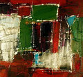 Ohne Titel - 2008 - Acryl auf Papier - 28,4 x 30,6 cm