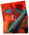 Ohne Titel - 2008 - Acryl auf Papier - ca. 67 x 53 cm