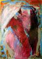 Ohne Titel - 2008 - Acryl auf Papier - 70 x 50 cm