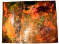 Ohne Titel - 2008 - Acryl auf Papier - ca. 67 x 89 cm