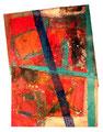 Ohne Titel - 2008 - Acryl auf Papier - ca. 70 x 52 cm
