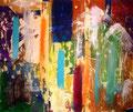 Ohne Titel - 2009 - Acryl auf Papier - ca. 70 x 83 cm