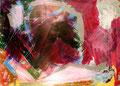 Ohne Titel - 2008 - Acryl auf Papier - 50 x 70 cm