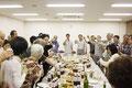 そして会議後は1年間の締め鈴木理事長の音頭で乾杯!