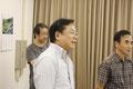 住棟委員長の高木さん、鈴木理事長とのコンビは絶妙でした