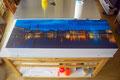 Anfertigung einer Lichtkastenhaube für eine Schrankwandbeleuchtung