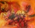 """""""LE SOUK"""" 2013 Acrylique et encre sur toile - 100cm X 80cm"""