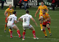 Hull KR  vs Dragons Catalans 27-02-2011   © Tracey DIXON