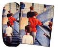 Artikel Nr. 9450 - Bauhaus-Treppe Schlemmer