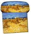 Artikel Nr. 9147 - Ernte in der Provence - van Gogh