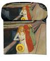 Artikel Nr. 9433 - Mädchen auf der Brücke - Munch
