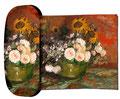 Artikel Nr. 9166 - Rosen und Sonnenblumen - van Gogh