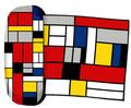 Artikel Nr. 9457 - Mondrian 1