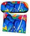 Artikel Nr. 9201 - Große blau Pferde - Marc