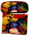 Artikel Nr. 9200 - Das blaue Pferd - Marc