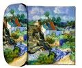 Artikel Nr. 9173 - Häuser in Auvers - van Gogh