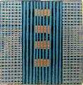 o.T., 2008, Linoldruck, 12,4 x 12,2 cm