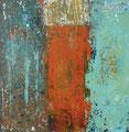 o.T., 2010, Acryl auf Holz, 14 x 14 cm