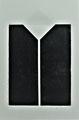 o.T. 2019, Linoldruck, Prägedruck, 31,3 x 20 cm
