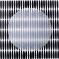 o.T., 2010, Transparentpapier über Digitaldruck, 12,5 x 12,5 cm