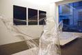 Antje Blumenstein, five lines Ausstellungsansicht