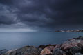 Schneewolken über dem / Snøskyer over Andfjord