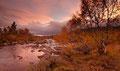 Vindfull høstkveld ved / Windiger Herbstabend bei Kromviki, Rauland