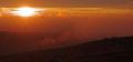 Morgensol og tåke / Morgensonne und Nebel, Fulufjell
