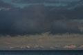 Schneewolken über / Snøskyer over Senja