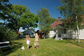 Sommer på / auf Stråholmen (Juni)
