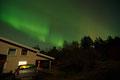 Nordlys over huset I / Nordlicht über dem Haus, 20.12.