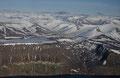 Flybilde fra Svalbard, rett sør for Longyearbyen / Luftbild von Spitzbergen, direkt südlich von Longyearbyen