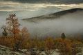Morgentåke i / Morgennebel im Dørålen, Rondane