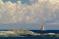 Og en seilbåt til på Skagerrak / Und noch ein Segelboot auf dem Skagerrak